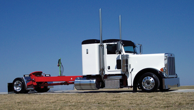 Custom Single Axle Trucks : Clint moore peterbilt hairstylegalleries