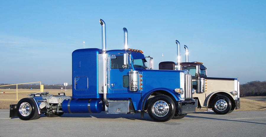 blue peterbilt galleryhip     the hippest galleries