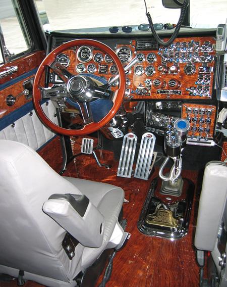 Peterbilt 379 interior for Wood floor kits for pickups