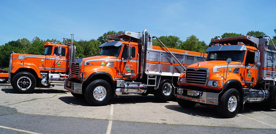 Mack Superliner custom tri axle dump Trucking t Trucks