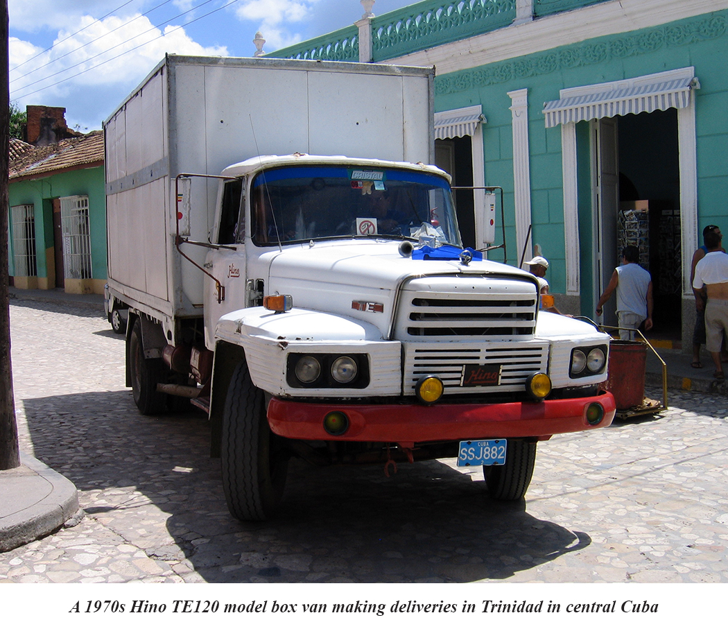 Nissan Diesel Truck >> Special Feature: Trucking In Cuba | 10-4 Magazine