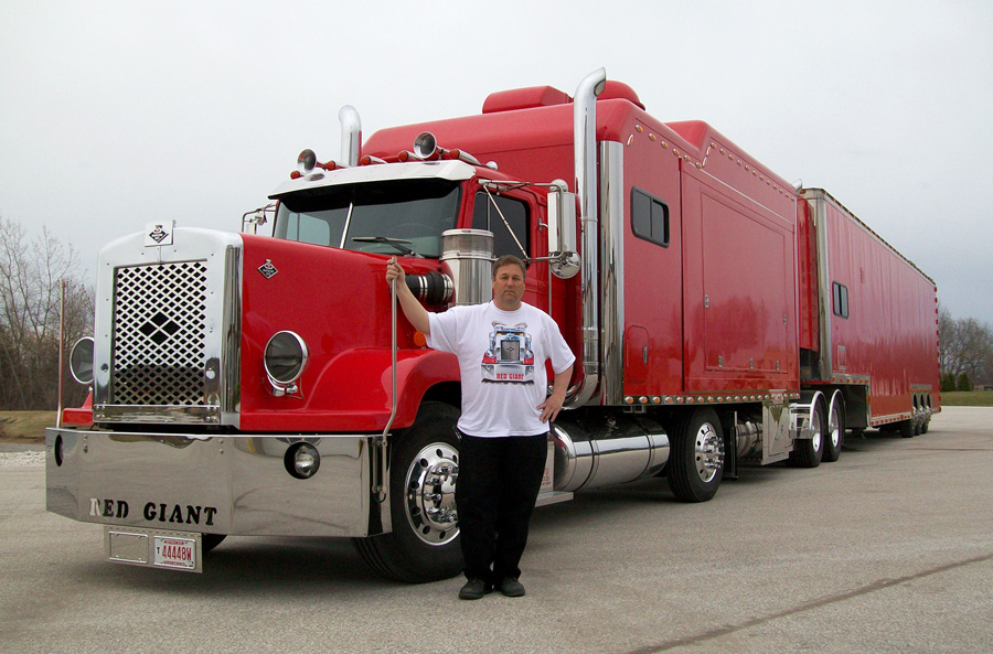 red giant truck - photo #15