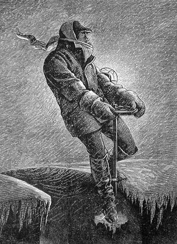 Brzdař v blizzardu