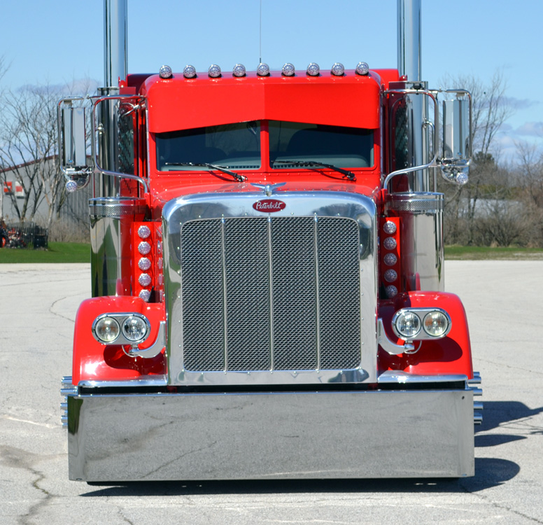 Picture Of Big Rig Headlights : Custom built for magazine