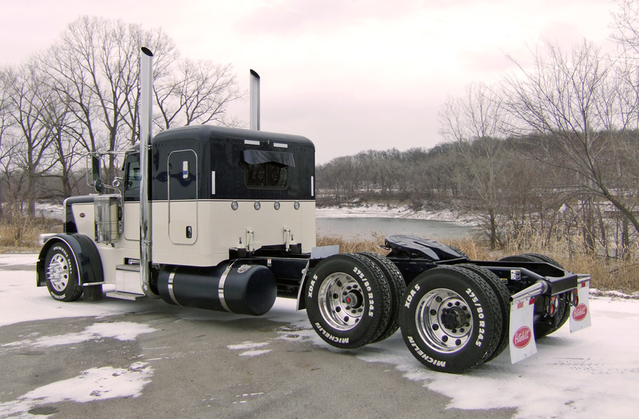 Custom Single Axle Trucks : Single axle peterbilt autos post