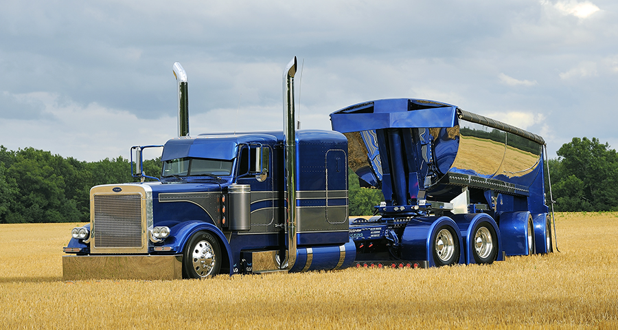 Bilt To Be Noticed on end dump trailers