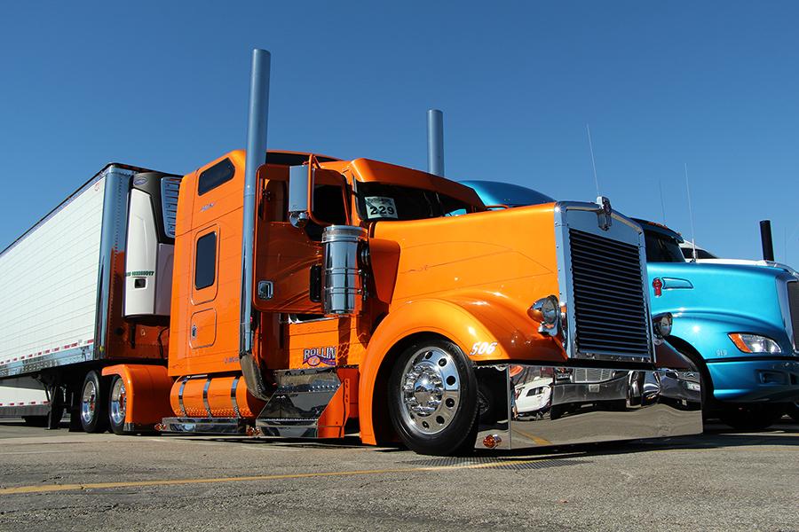 Trucks Custom Big Rig Orange : A party with purpose magazine