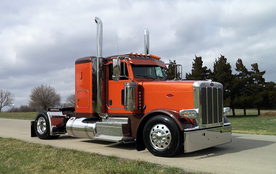 Custom Single Axle Trucks : Images about big rigs on pinterest peterbilt