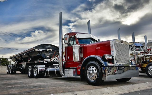 """Most shows focus on the beauty of trucks and their mirror-like chrome, but this one highlights their """"smoky"""" side, too. Since last year's show, I have been planning my schedule..."""