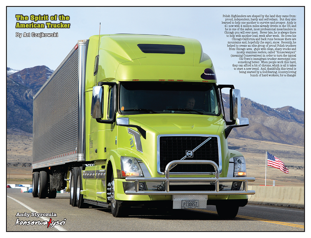 The Spirit Of The American Trucker – March 2015 | 10-4 Magazine