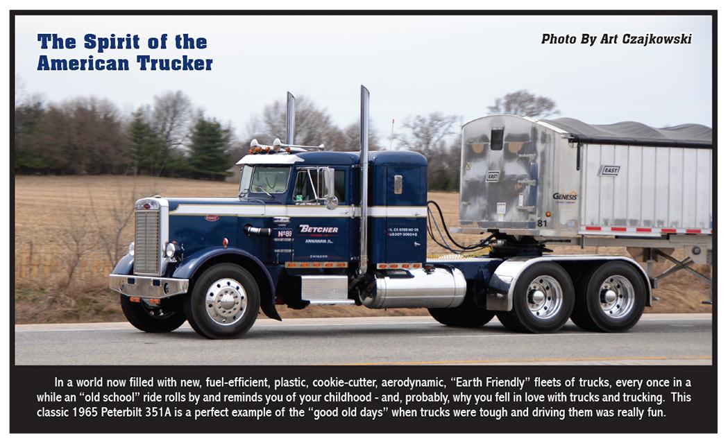 The Spirit of the American Trucker – October 2015 | 10-4 Magazine