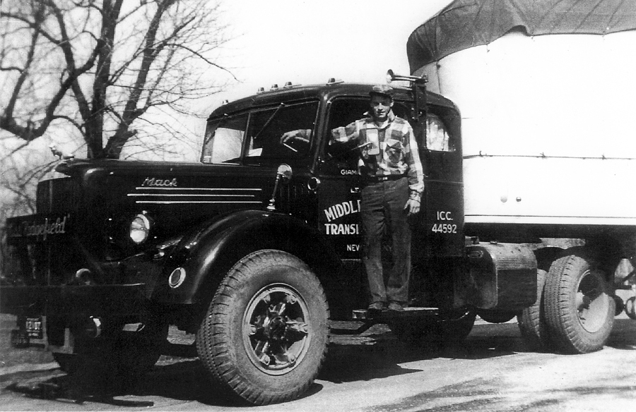 an old mack comes home 10 4 magazine