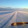 Ice road truckin' to the Diavik Diamond Mine in Canada's Northwest Territories, delivering a load of cement. Photo submitted by […]