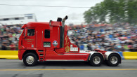 One of the more eye-catching trucks participating at the uphill truck drag races in St. Joseph DeBeauce in Quebec, Canada, […]