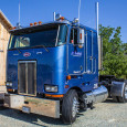If it ain't broke, don't fix it! Eddie Amaral Jr. (50) of Gustine, California owns this well-kept old Peterbilt cabover […]