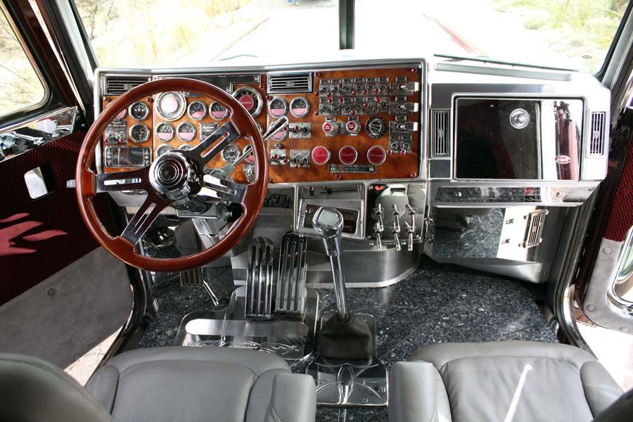 1000 images about interior on pinterest for Wood floor for 379 peterbilt