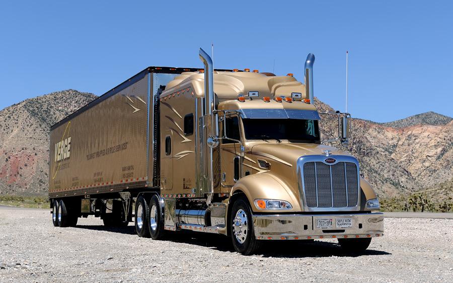 Peterbilt Truck Drivers And Trucks On Pinterest: Luxury Behind The Cab On Pinterest